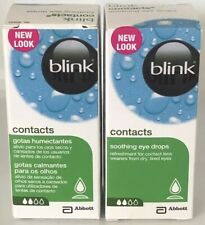 2XBlink Contacts Soothing Dry Eye Drops 2X10ml