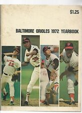 Original   1972  Baltimore Orioles Yearbook    Nr Mint condition