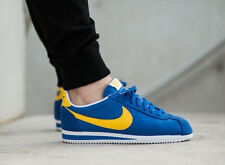 NIKE CLASSIC CORTEZ NYLON Trainers Gym Casual Retro Fashion  UK 8.5 (EU 43) Blue