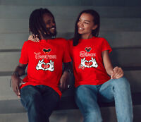 Mickey & Minnie Together Since - Personalized Matching T-Shirts for Couples!