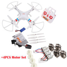 SYMA X8C RTF RC Quadcopter Drone UAV RTF UFO 2MP HD Camera + 4pcs Spare Motors