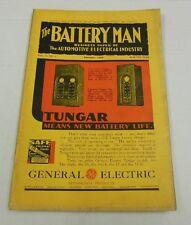 The Battery Man Vol. 14, No. 1 January, 1933