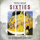 Triple Value: Sixties by Various Artists (CD, Dec-2003, Red X) 3 DISC SET