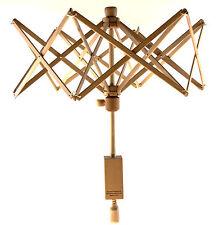 Stanwood Needlecraft:  Wooden (Birch) Swift Yarn Winder Umbrella - Medium 6 ft