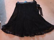 Marks And Spencer's, Per Una Panelled Lace Skirt. Size 16