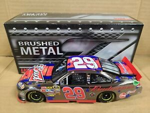 2011 Kevin Harvick #29 Budweiser 4th July Brushed Metal 1:24 NASCAR Action MIB
