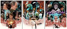 Joshua Budich Star Wars Trilogy SET Poster Print