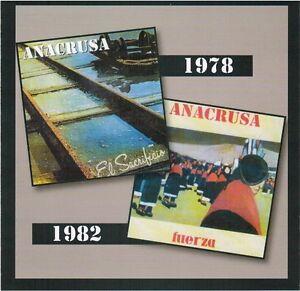 """Anacrusa:  """"El Sacrificio & Fuerza"""" (2on1 CD Reissue)"""
