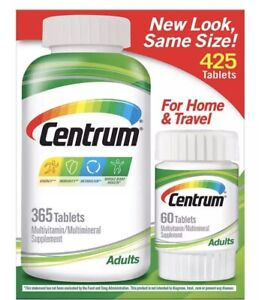 Centrum Adults 425 Tabletten Multi Vitamin Mineral 425 Tage Vorrat NEU Original