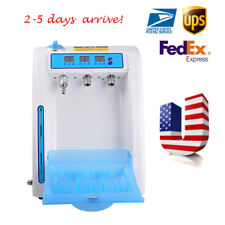 Dental Automatic Handpiece Lubrication System Cleaning Device Oiling Machine USA