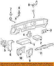 Buick GM OEM LeSabre-Dash Climate Control Unit HVAC Heater A/C Fan 16214484