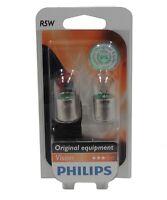 Philips 12821B2 Vision lot de 2 ampoules R5W 12V 5W pour clignotants  - C2970