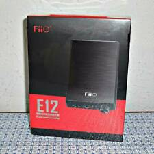 NEW FIIO E12 MONT BLANC PORTABLE USB RECHARGEABLE HIFI HEADPHONE AMPLIFIER BLACK