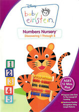 Baby Einstein: Numbers Nursery - Discovering 1 Through 5 ~ DVD FREE Shipping USA