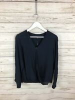 MASSIMO DUTTI Top - Size Large - Navy - New with Tags - Women's
