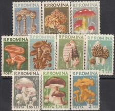 Romania 1958 Mi 1721-1730 Mushrooms Sc 1225-1234 MNH