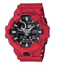 Casio G-Shock *GA700-4A Front Button Anadigi Red Resin Watch for Men COD PayPal