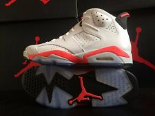 NIB MENS NIKE AIR JORDAN 6 RETRO INFRARED WHITE BLACK Sz 11.5 W/ COPY OF RECEIPT