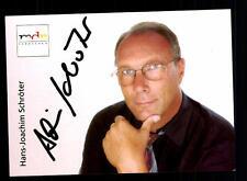 Hans Joachim Schröter MDR Autogrammkarte Original Signiert # BC 73314