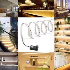 5m LED Strip RGB SMD3528 60/M LEDs Streifen Band Leiste mit 12V Netzteil Innen