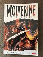 Wolverine TPB Evolution Jeph Loeb Sabretooth