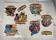 vintage New Adventures NA He-Man Eternia Skeletor Motu Decals Stickers Rare
