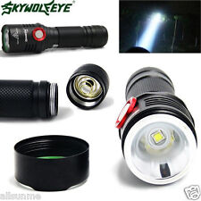 5 Mode CREE XM-L2 T6 LED USB Rechargeable Flashlight Torch Lamp