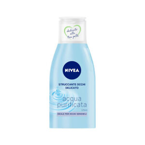 NIVEA Make up Remover Eyes Delicate Water Purified 125 ML - 4005900811103
