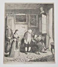1830's  Cruikshank Comic Etching Print British Humor Free Shipping