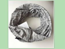 NWT Lululemon Vinyasa Scarf Space Dye Camo Black Gray