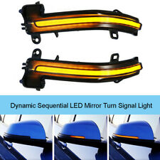Smoke LED Dynamic Mirror Indicator Turn Light For BMW F20 F30 F32 1 2 3 4 Series
