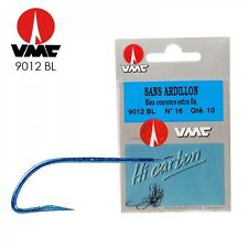 Hameçons sans ardillon VMC Ref: 9012 BL N°16 par 10