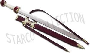 Maximus Roman Gladiator Sword Medieval Gladius With Scabbard