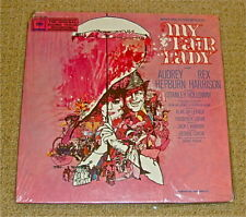 -MY FAIR LADY RARE LIMITED ED. PINK VINYL Soundtrack with LETTER -#4256 SEALED!
