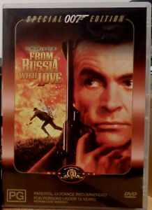 FROM RUSSIA WITH LOVE DVD - AS NEW CONDITION - WATCHED ONCE - THE 2ND BOND MOVIE