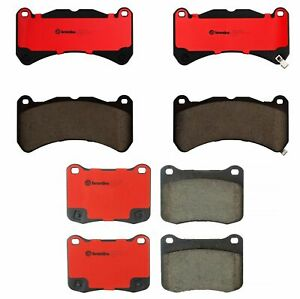 Brembo Front and Rear NAO Ceramic Brake Pads Set Kit For Lexus IS F 2008-2014
