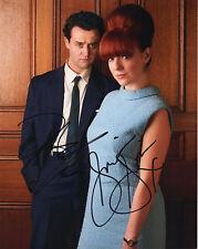 SHERIDEN SMITH & DANIEL MAYS - Signed 10x8 Photograph - TV - MRS BIGGS