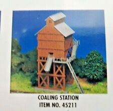 BACHMANN 1/87 HO SCALE WOOD COALING STATION TOWER BUILDING MODEL KIT 45211 F/S