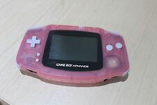 Rosa claro Game Boy Advance re furbished condición Nintendo GBA Gameboy