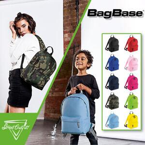 Kids Mini Backpack Fashion BagBase School Sports Rucksack Bag Boys Girls