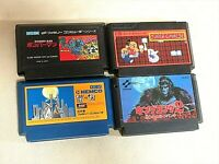 NES a lot game software. total 4 games fc Famicom Nintendo Japanese  From Japan