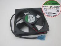 SUNON KD1212PTB1-6A 12025 12CM 12V 4.8W double ball cooling fan