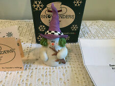 Sarah's Attic Snowonders Figurine 1998- October Witchy #6409