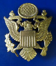 ARMY OFFICERS CRUSH CAP EAGLE-EARLY POINTED WING STYLE.
