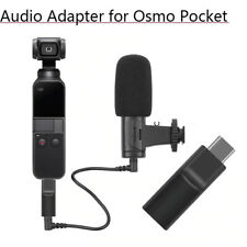 External 3.5 MM Microphone Adapter for DJI Osmo Pocket Audio Record