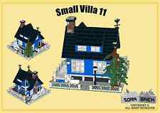 Custom instruction, consisting of LEGO elements - Small Villa 11