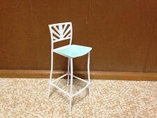 Barbie Doll Fashion Fever Kitchen Chair High Bar Stool Home Furniture Playset