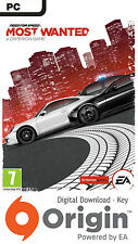 NEED FOR SPEED MOST WANTED PC ORIGIN KEY