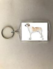 Dog Keychain Key Chain Anatolian Shepherd