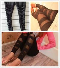 SEXTY ,da donna piqué ELASTICIZZATO SLIM NINE PUNTI Pantaloni Legging sexy